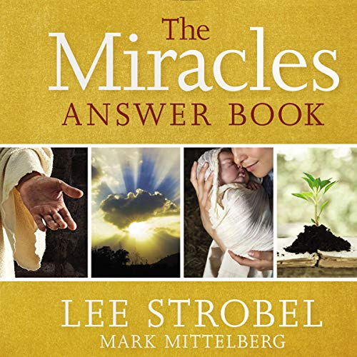 The Miracles Answer Book audiobook cover art
