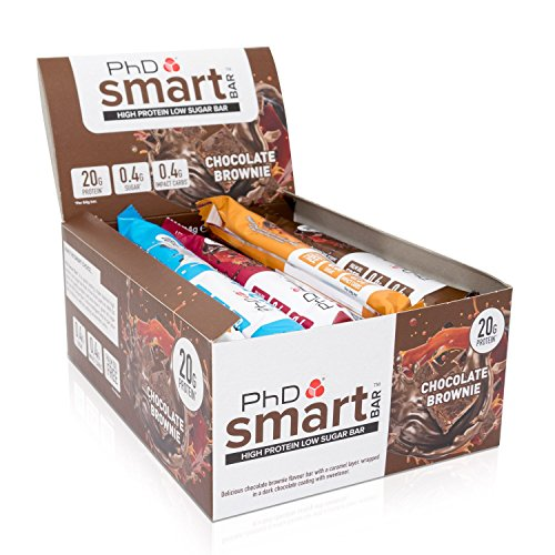PHD Smart Bar MIX BOX (5 Geschmäcker) 15x64g