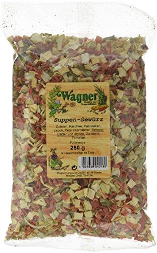 Wagner Gewürze Suppengrün, 5er Pack (5 x 250 g)