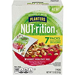 Planters NUT-rition Heart Healthy Mix with Walnuts, 7 ct - 7.5 oz Box