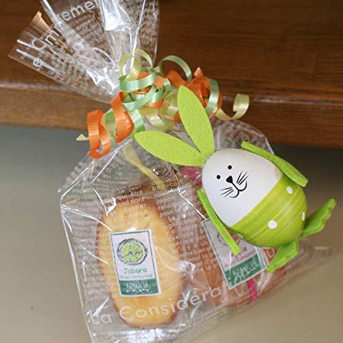 イースターバニー焼き菓子ギフトバッグ〜和歌山産フルーツを焼き込んだパウンドケーキ・マドレーヌ・カップケーキ&うさぎデコ・イースターエッグ