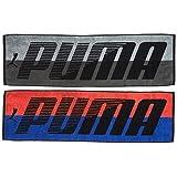 PUMA スポーツタオル 2枚セット グレー/レッド PU2730