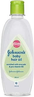Johnson's Baby Hair Oil (200Ml) Clear