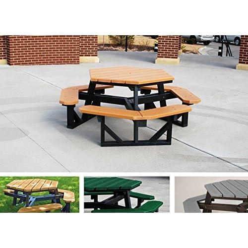 Marvelous Commercial Picnic Tables Amazon Com Machost Co Dining Chair Design Ideas Machostcouk