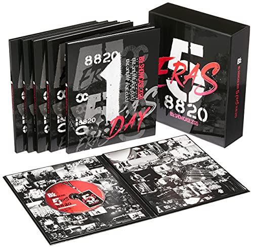 完全受注生産限定 「B'z SHOWCASE 2020 -5 ERAS 8820-Day1~5 COMPLETE BOX」 (Blu-ray)