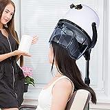 Immagine 2 homcom casco asciugacapelli professionale portatile