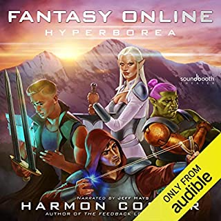 Fantasy Online: Hyperborea audiobook cover art