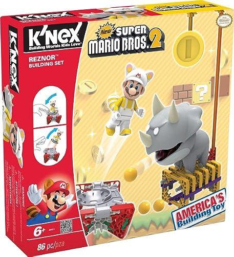 K'Nex 33131R - Bauset Super Mario Enemy Serie 1 Reznor