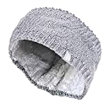 HEAT HOLDERS - Damen outdoor gestrickt strick thermo winter stirnband mit innen fleece (One Size,...