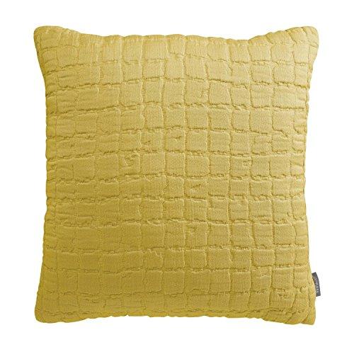 Vivaraise - Coussin Swami avec garnissage Moelleux – Housse Amovible Lavable 100% Coton lavé Stonewash - Taie d'oreiller Lavable