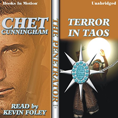 Terror in Taos audiobook cover art