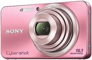 Sony DSC W570P Digitalkamera (16 Megapixel, 5 fach opt. Zoom, 6,9 cm (2,7 Zoll) Display, bildstabilisiert) pink