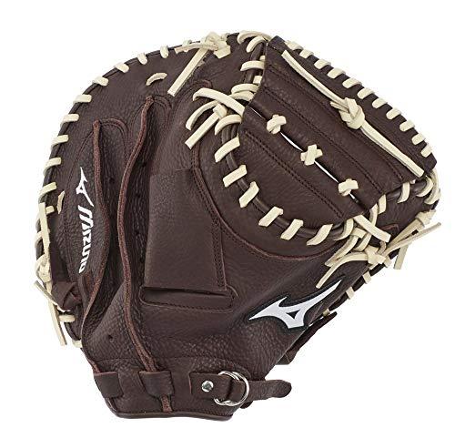 "Mizuno GXC90B3 Franchise Series Baseball Catcher's Mitts, 33.5"", Left Hand Throw"