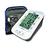 Physio Logic Essentia Automatic Blood Pressure Monitor with Universal Arm Cuff, White