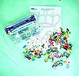 Kreul 49641 – Schmucksteine Set, für die Gestaltung von modischen Accessoires und zur Gestaltung im Home Deco Bereich, 1000 bunte Steine in verschiedenen Formen und Größen - 4