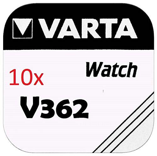 VARTA KNOPFZELLEN 362 SR721SW (10 Stück, V362)