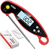 Meat Thermometer, Habor 192 Ultra-Fast Read Digital Food Cooking Thermometer with Backlight LCD