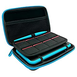 professional 3 in 1 case compatible with New 2DS XL, carrying case compatible with Nintendo 2DS XL with pen, 2…