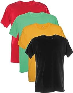 Kit 4 Camisetas 100% Poliester 30.1