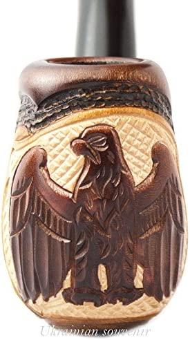 Eagle 55% OFF V Tobacco Pipe for Smoking Made Wood Al sold out. Wooden Pear Hand