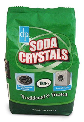 DriPak - Cristaux de soude - 6 sacs de 1 kg - Le détachant original