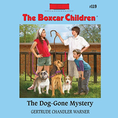 The Dog-Gone Mystery audiobook cover art