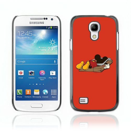CelebrityCase Polycarbonate Hard Back Case Cover for Samsung Galaxy S4 MINI ( Mouse Trap )