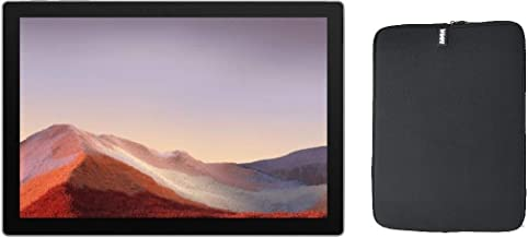 Sponsored Ad - Newest Microsoft Surface Pro 7 12.3 Inch Touchscreen Tablet PC Bundle with WOOV Sleeve, Intel 10th Gen Core...
