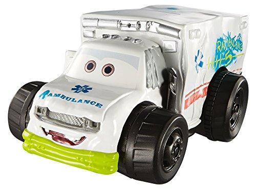 Cars 3- Coche carreras acuáticas Ambulance (Mattel DXW12) , color/modelo surtido