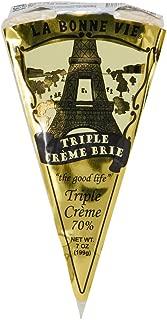 LA BONNE VIE Brie Wedge Triple Creme, 7 oz