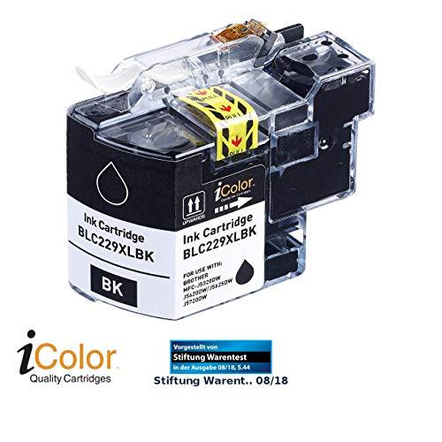 iColor Brother Mfc J5320dw: Tintenpatrone für Brother (ersetzt LC-229XL), Black (schwarz) (Druckerpatronen)