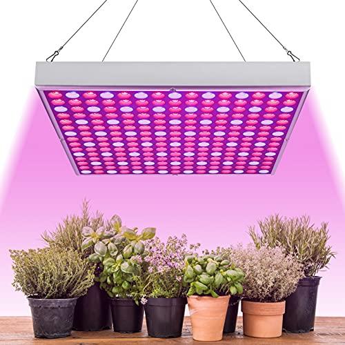 EINFEBEN Pflanzenlampe Vollspektrum,LED Grow Lampe 15W,mit Rot Blau Licht,Pflanzenleuchte für Zimmerpflanzen Gemüse und Blumen im Gewächshaus