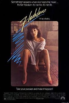 Flashdance poster ft. Jennifer Beals