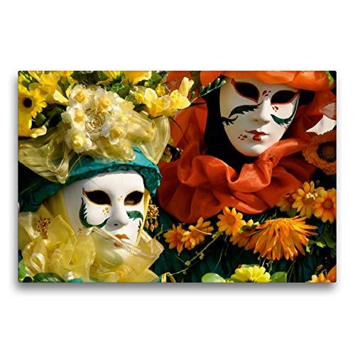 CALVENDO Premium Textil-Leinwand 75 x 50 cm Quer-Format März, Leinwanddruck von Elisabeth Stephan