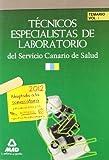 Técnicos Especialistas De Laboratorio Del Servicio Canario De Salud/Hospital Universitario De Canarias. Temario. Volumen I (Canarias (mad))