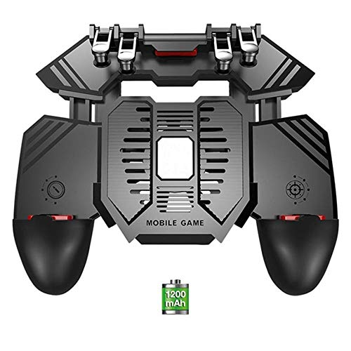 Allibuy Mechanisches Gamepad Energien-Bank-Radiator Six Finger PUGB Griff Gamepad Spiel Entertainment mit Lüfter (Farbe : B, Größe : Einheitsgröße)