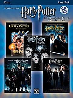 Harry Potter, Instrumental Solos (Movies 1-5): Flute (Book & CD) (Harry Potter Instrumental Solos (Movies 1-5): Level 2-3) Paperback February 4, 2008