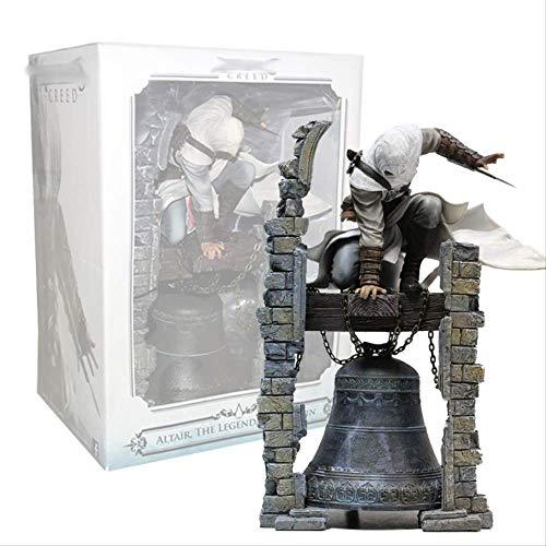 QWYU 30cm Glaubensbekenntnis Die Legendäre Altair-Figur Bayek Aya Actionfigur Sammlerstück Spielzeug Spielzeug