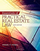 By Daniel F. Hinkel Essentials of Practical Real Estate Law (6th Sixth Edition) [Paperback]