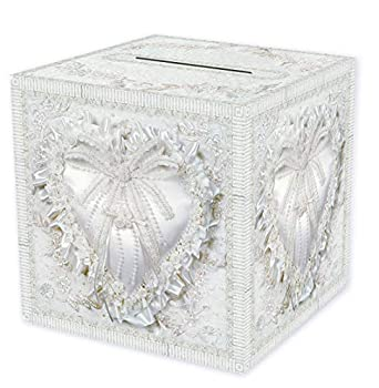 Beistle Durable Paper Card Box Wedding Party Supplies Anniversary Decorations 12  x 12  White