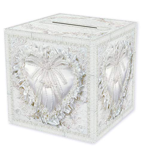 Beistle Durable Paper Card Box Wedding Party Supplies Anniversary Decorations, 12