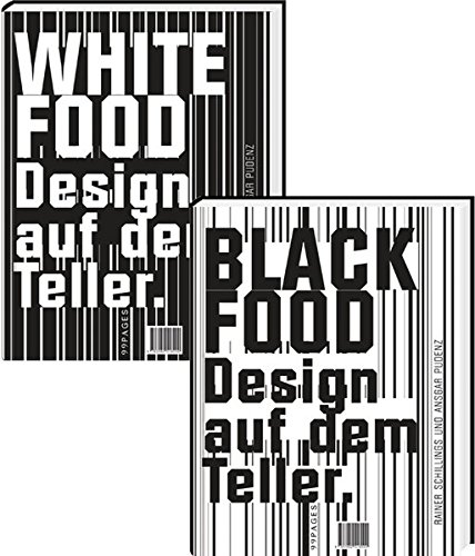 Black & White Food: Design auf dem Teller