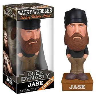 Funko Duck Dynasty Jase Robertson Talking Wacky Wobbler,Multi-colored