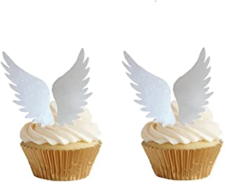 angel wing cupcake toppers
