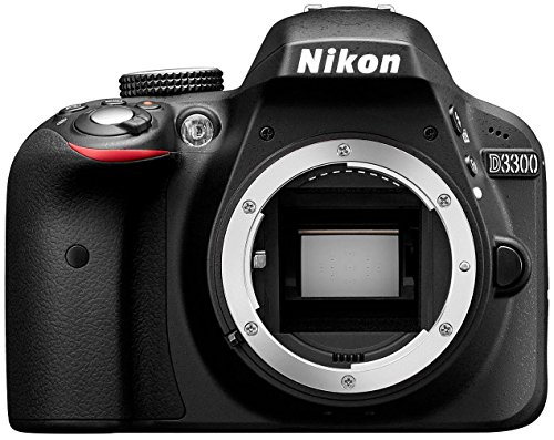 Nikon D3300 - Cámara réflex digital de 24.2 Mp (pantalla LCD de 3in, grabación de vídeo Full HD), color negro - sólo cuerpo (Reacondicionado)