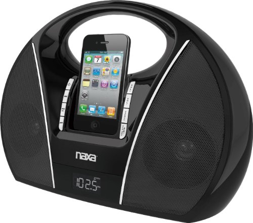 Best Review Of NAXA Electronics  NI-3108 Portable PLL Digital FM Stereo Radio with Dock for iPod and...