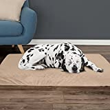 PETMAKER Orthopedic Pet Bed - Egg Crate and Memory Foam with Washable Cover 46x27x4 Tan