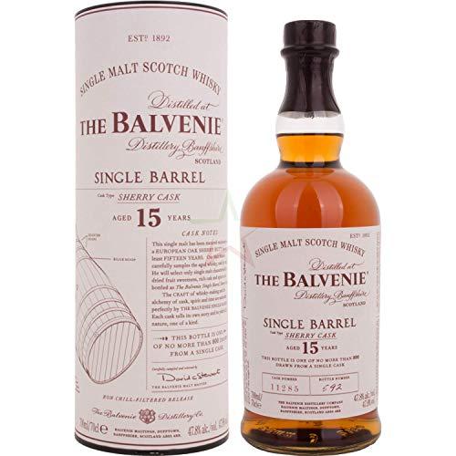 The Balvenie 15 Years Old Single Barrel Sherry Cask 47,80% 0,70 Liter