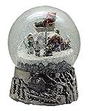 MINIUM-Collection 20059 Globos de Nieve Navidad Santa Gira la Caja de música Base de...