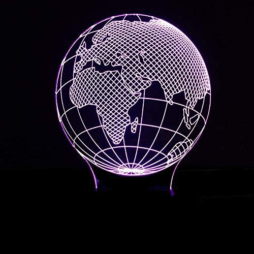 3D-lamp, illusie, nachtlampje, led, optisch, kaartentafel, 7 modellen, Touch Control licht, nachtlampje, kunstdecoratie, voor een romantische sfeer voor kinderen, kinderen, nachtkastje lamp voor slaapkamer, nachtkastje, tafel.